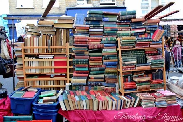 Portobello Road Market Books