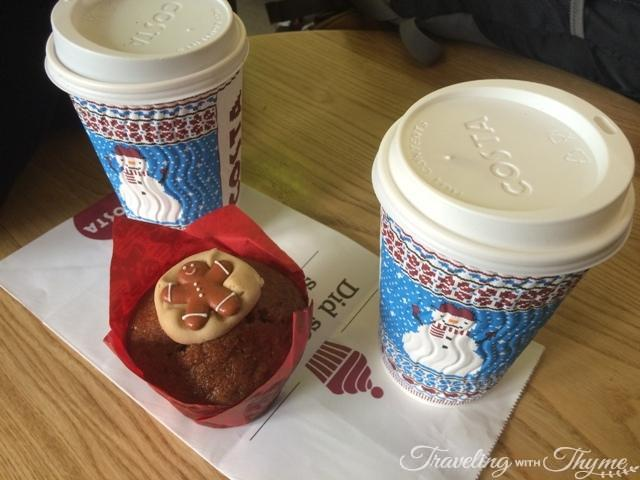 Cost Coffee Christmas Cup