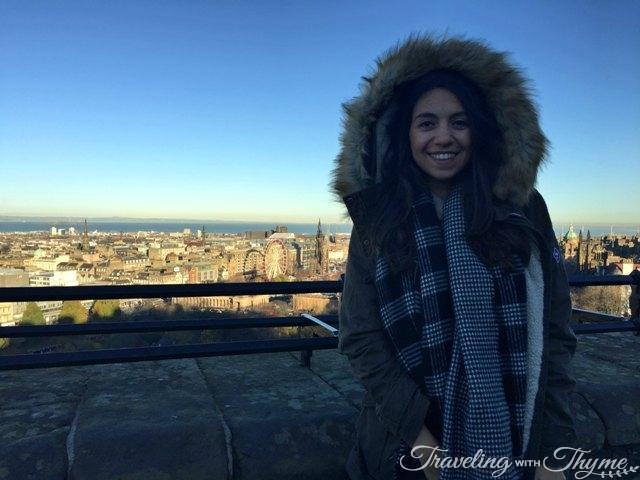 24 Hours in Edinburgh Castle View