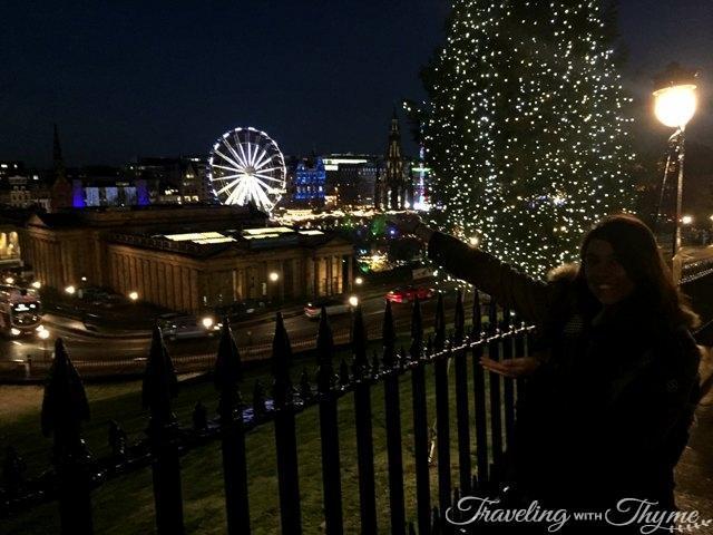 24 Hours in Edinburgh Christmas Market