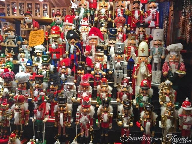 Edinburgh Christmas Market Nutcrackers
