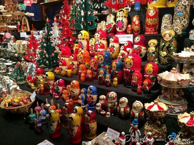 Edinburgh Christmas Market Bulgarian Dolls