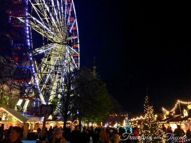 Edinburgh Christmas Ferris Wheel