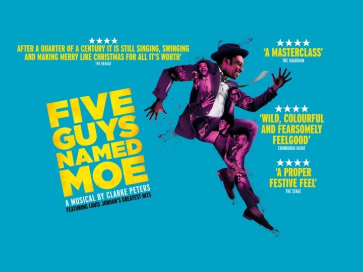 Five Guys Named Moe Edinburgh