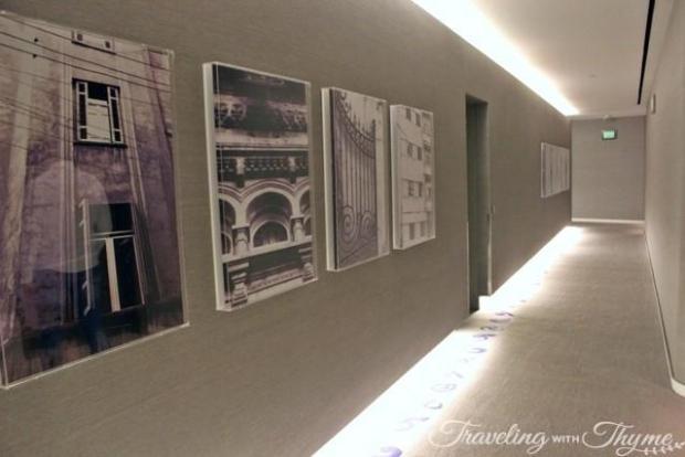 Le Gray Hotel Review Corridor