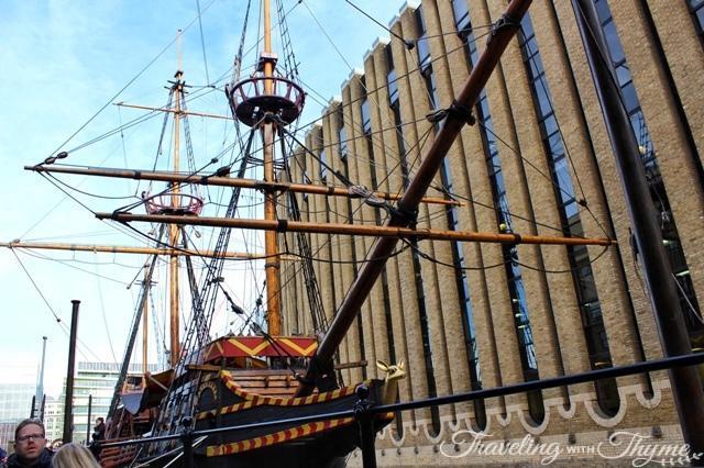 gild pirate ship london