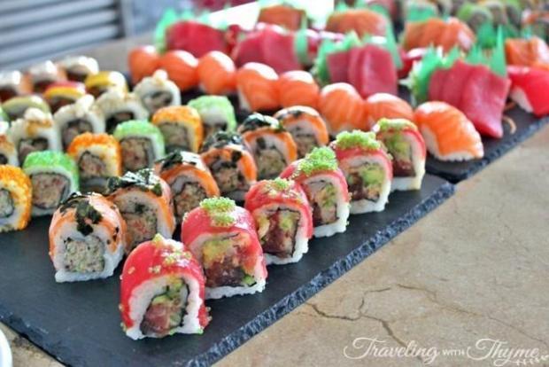 Brunch Le Gray Hotel Beirut Sushi