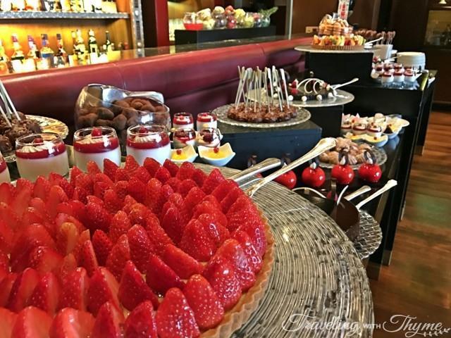 Dessert Tarte Four Seasons Hotel Beirut