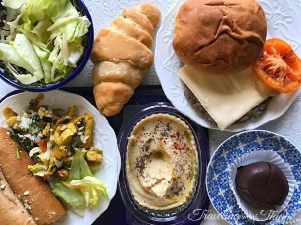 Burger Eat Diet Club Meal
