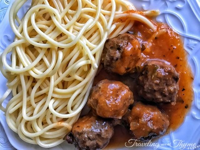 Eat Diet Club Meal Spaghetti Meatballs
