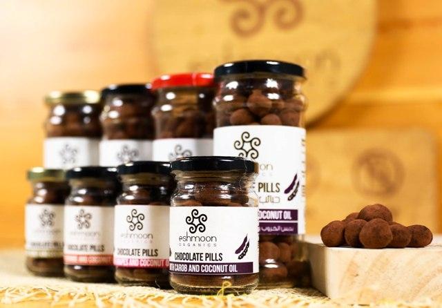 Eshmoon Chocolate Pills Flavours