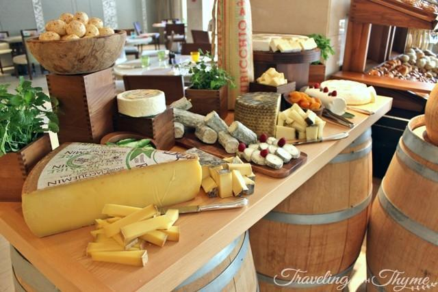 Cheese Kempinski Hotel Sunday Brunch
