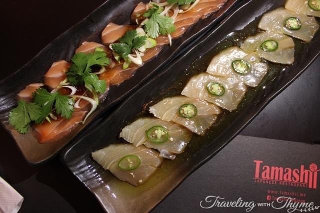 Tamashii Sushi Lebanon Sashimi