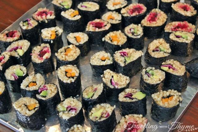 Food Dealer Vegan Brunch Sushi Maki