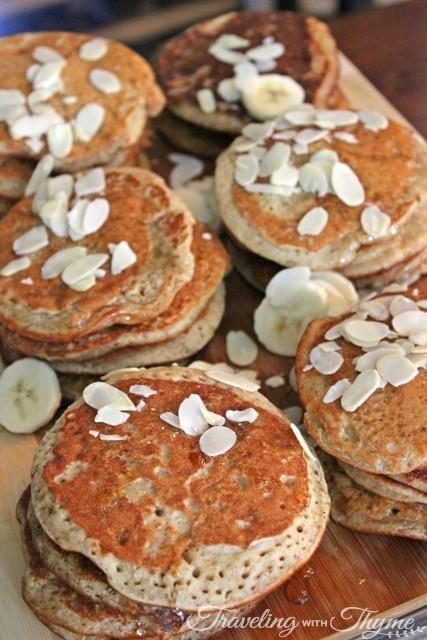 Food Dealer Vegan Brunch Beirut Pancakes