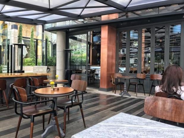 Les Malins Backyard Hazmieh Brasserie Architecture