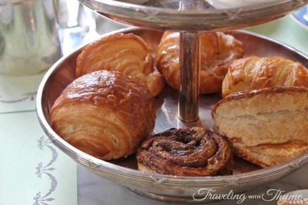 LaDuree Brunch Croissant
