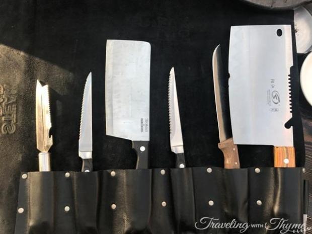 Steak Bar Sushi Restaurant Lebanon Knives