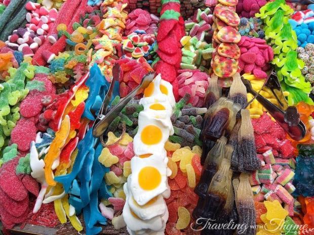 La Boqueria Market Barcelona Candy