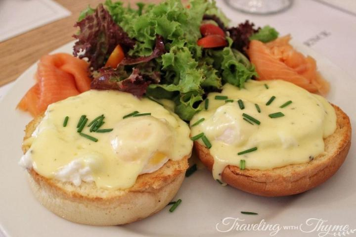 Frosty Palace Diner Eggs Benedict beirut