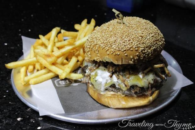 Meats and Bread WTF Burger Beirut