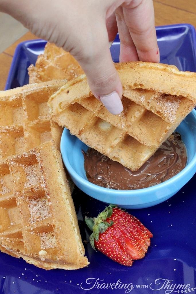 IHOP Lebanon Waffle Churros Chocolate Dessert