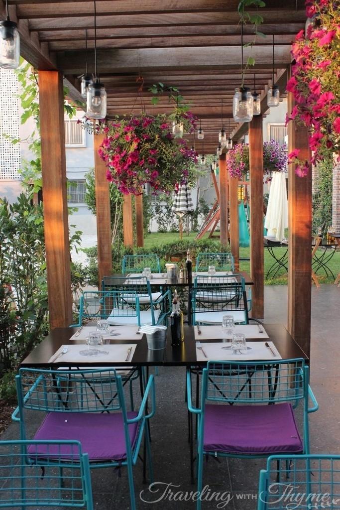 Sapori e Vini Italian Garden Terrace