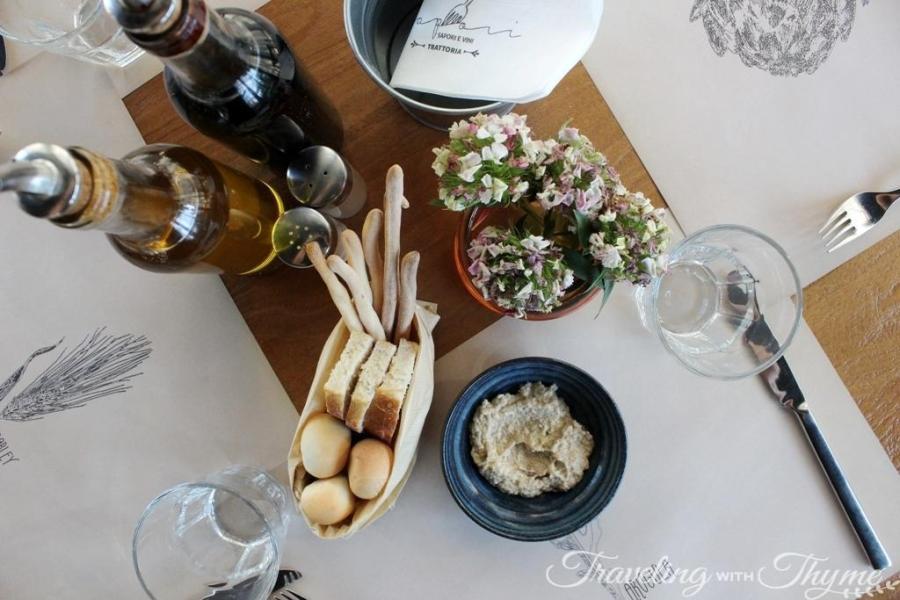 Sapori e Vini Jbeil Bread Basket