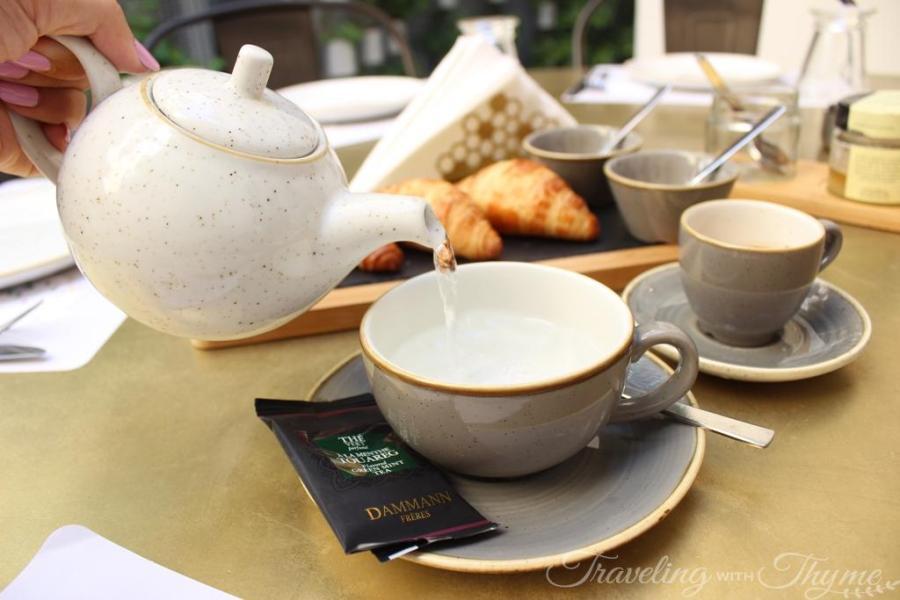 Atelier du Miel Breakfast Croissants Coffee