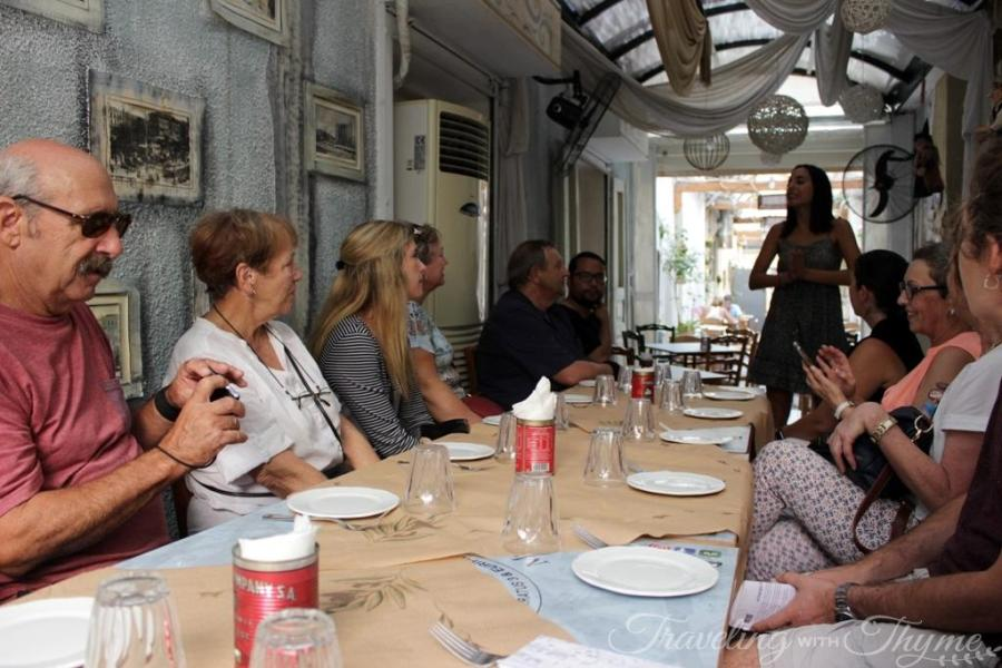 Athens Food Tour Greek Taverna Mezze