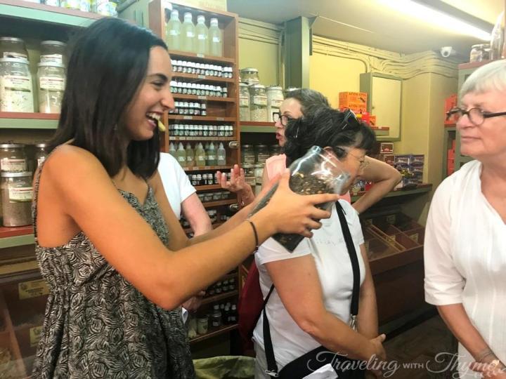 Athens Tour Fruit Market Travel Blogger