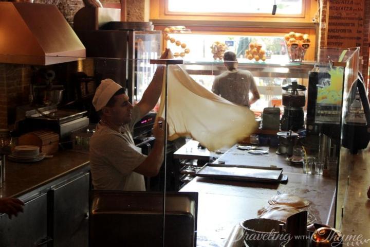 Athens Food Tour Bougatsa Pies Chef