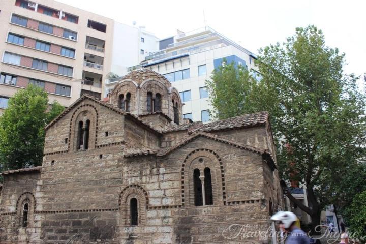 Athens St Theodore Church Agioi Theodoroi