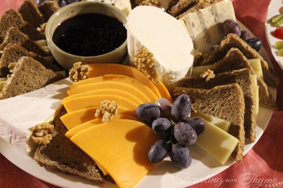 Chateau Ksara Lebanon Winery Cheese Wine