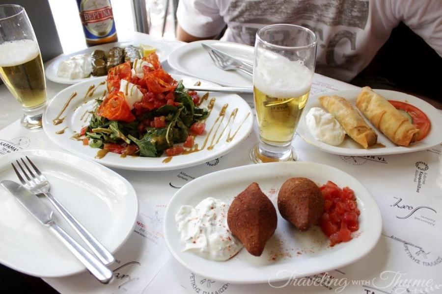 Karamanlidika tou Fani Restaurant Athens mezze
