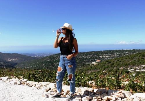 209 Lebanese Wine Batroun Tour Blogger Lebanon