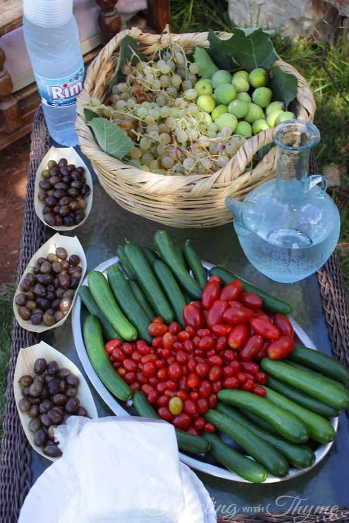 Lebanese Breakfast Saj Manakish Keshek Zaatar
