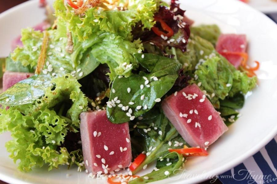 Bistreau Batroun Seafood Lebanese restaurant salad