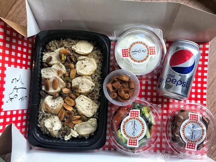Em Georges Cuisine BitFood Delivery Box