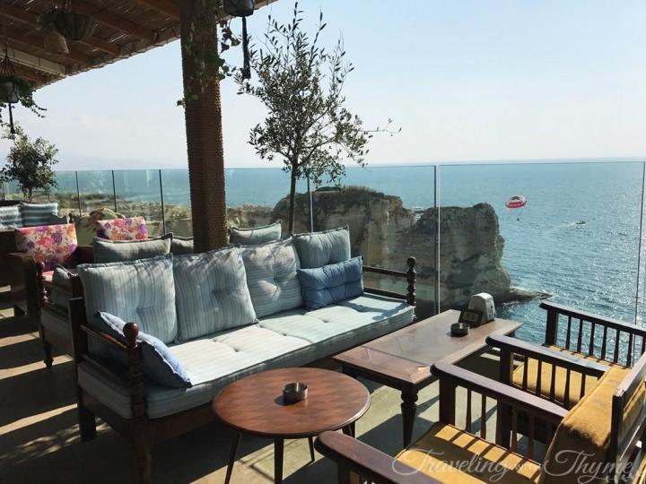 Al Falamanki Raouche Interior Terrace