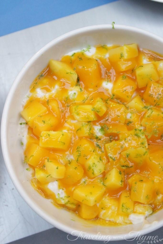 La Petite Table Lebanon Dessert Mango