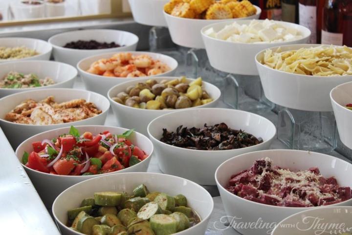 La Petite Table Lebanon Salad Bar