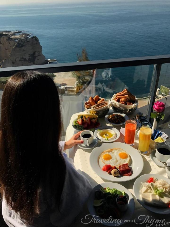 Rotana Hotel Breakfast Room Service Lebanon