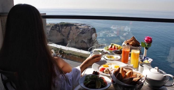 Rotana Hotel Raouche Breakfast Room Service