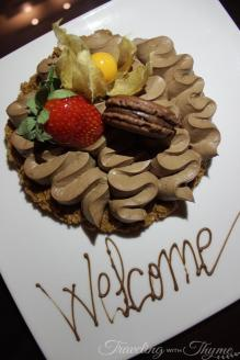 Rotana Hotel Raouche Suite Welcome Gift