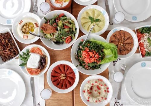 Enab Beirut Jbeil Lebanese food mezza