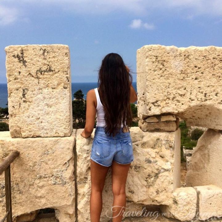 Lebanese Travel Blogger Byblos Lebanon Ruins