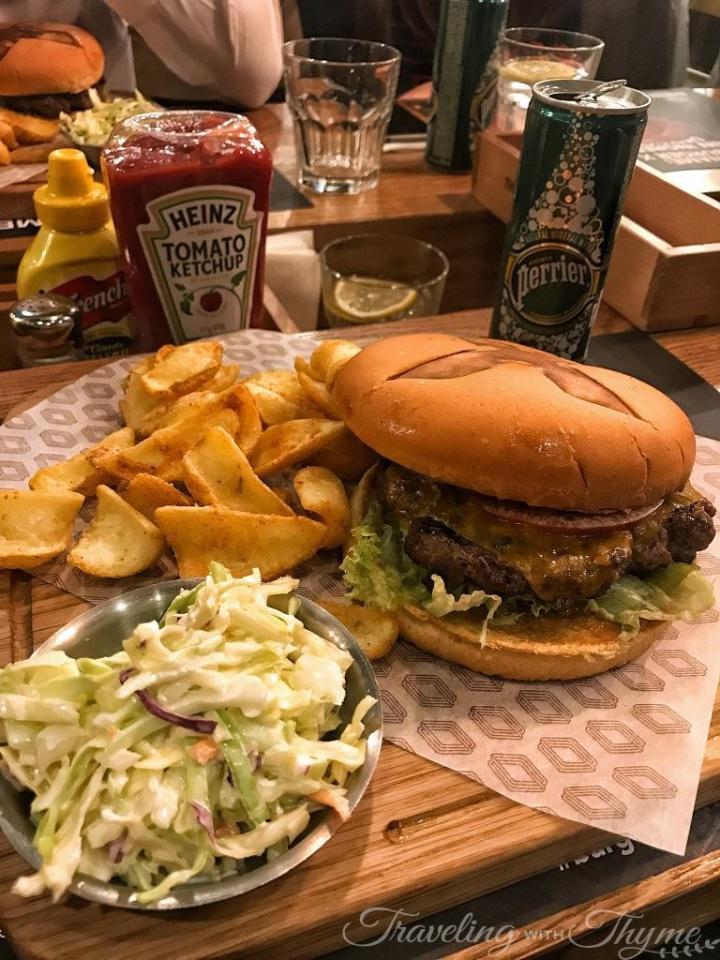 Roadster Diner Burger X New Menu