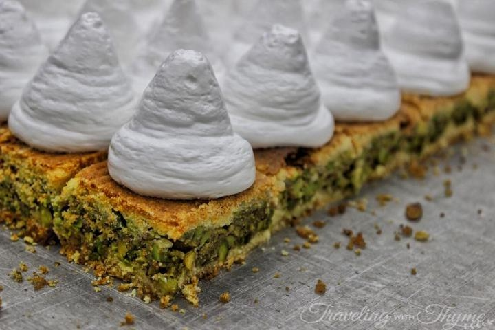 Lebanese Oriental Sweets Karbouj Mad Pistachios