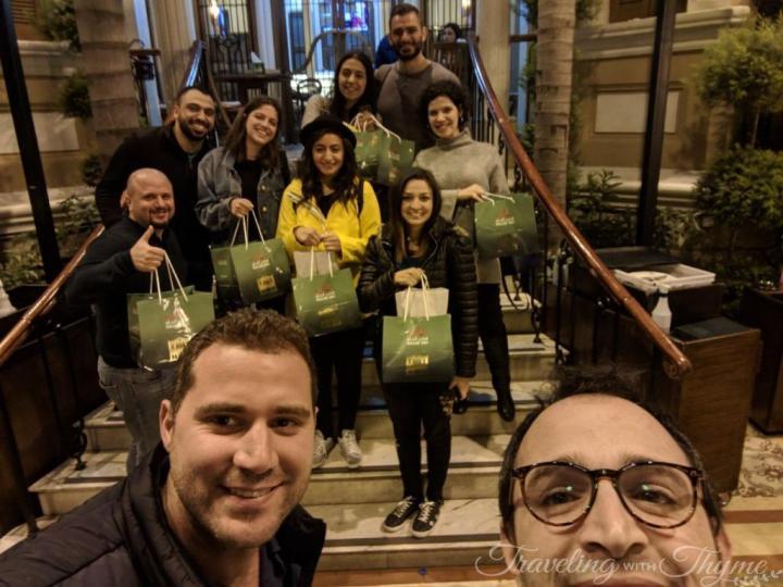Hallab Tripoli Lebanese Food Bloggers Collaboration